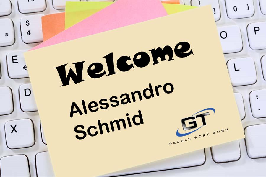 Blog Welcome Alessandro Schmid